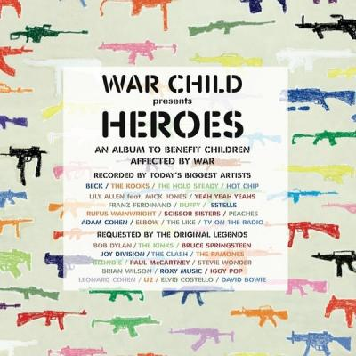 War Child presents Heroes Soundtrack CD. War Child presents Heroes Soundtrack