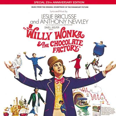 Willy Wonka and The Chocolate Factory Soundtrack CD. Willy Wonka and The Chocolate Factory Soundtrack