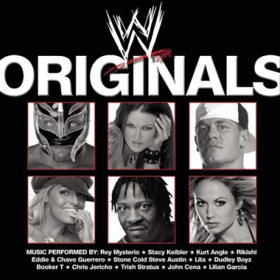 WWE Originals Soundtrack CD. WWE Originals Soundtrack