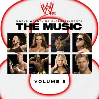 WWE: The Music, vol. 8 Soundtrack CD. WWE: The Music, vol. 8 Soundtrack