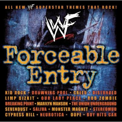 WWF Forceable Entry Soundtrack CD. WWF Forceable Entry Soundtrack
