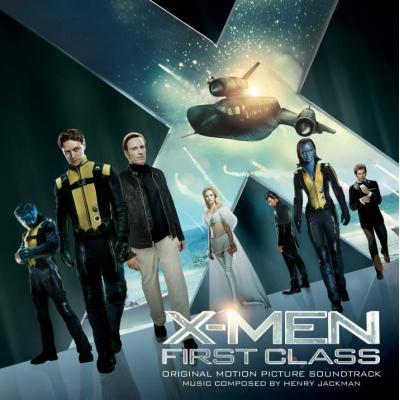 X-Men: First Class Soundtrack CD. X-Men: First Class Soundtrack