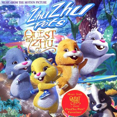 Zhu Zhu Pets Quest For Zhu Soundtrack CD. Zhu Zhu Pets Quest For Zhu Soundtrack