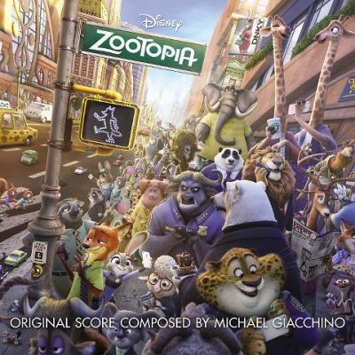 Zootopia Soundtrack CD. Zootopia Soundtrack